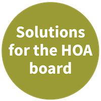 Solutions for the HOA board