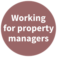 Working for property managers