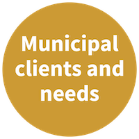 Municipal clients and needs
