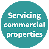 Servicing commercial properties